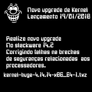 Novamente upgrade de Kernel no Slackware 14.2