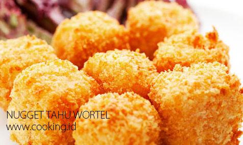 Resep Membuat Nugget Tahu Wortel