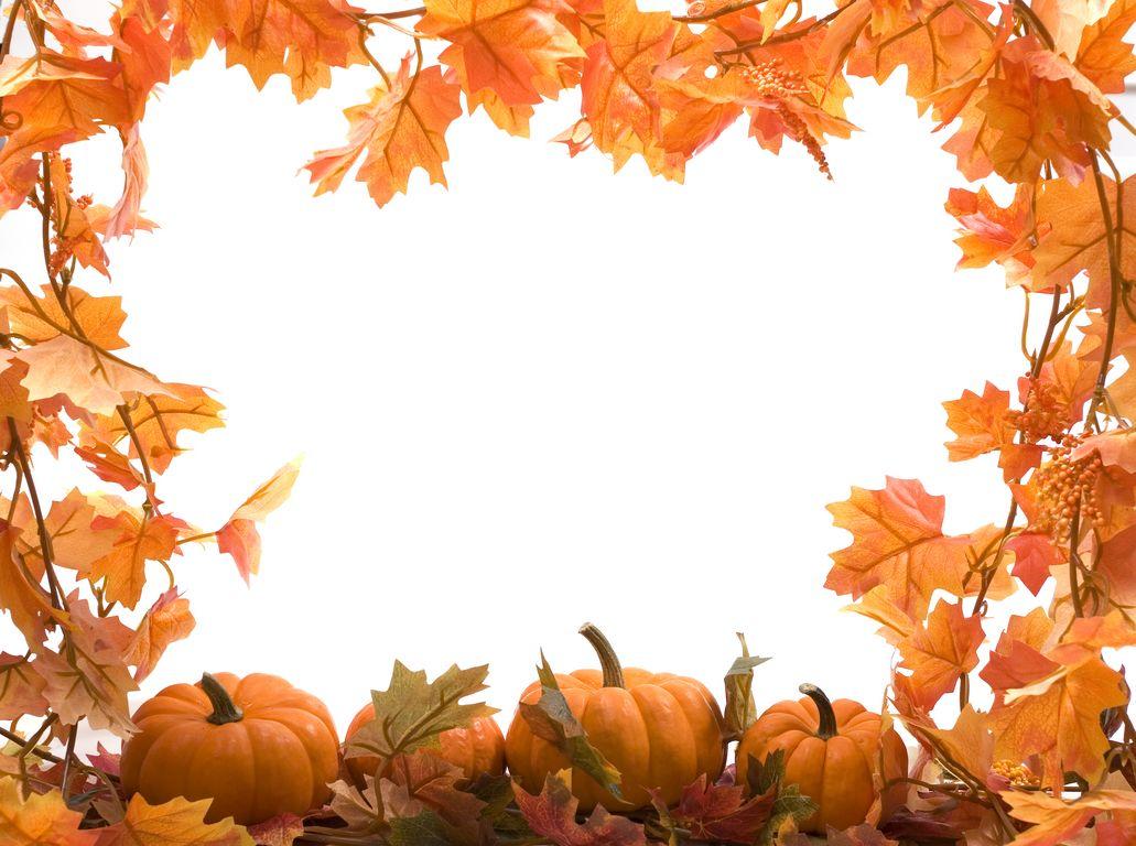 thanksgiving clip art frames - photo #35