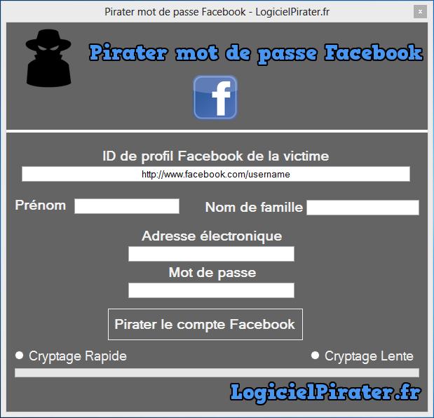 Comment Pirater un compte Facebook?