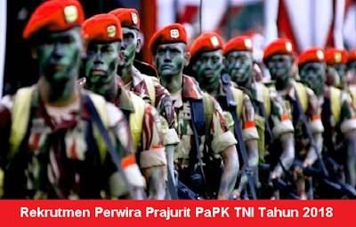 Rekrutmen Calon Perwira Prajurit TNI Tahun 2018 Besar-Besaran Seluruh Indonesia
