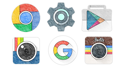 Sketchy - Icon Pack - 3