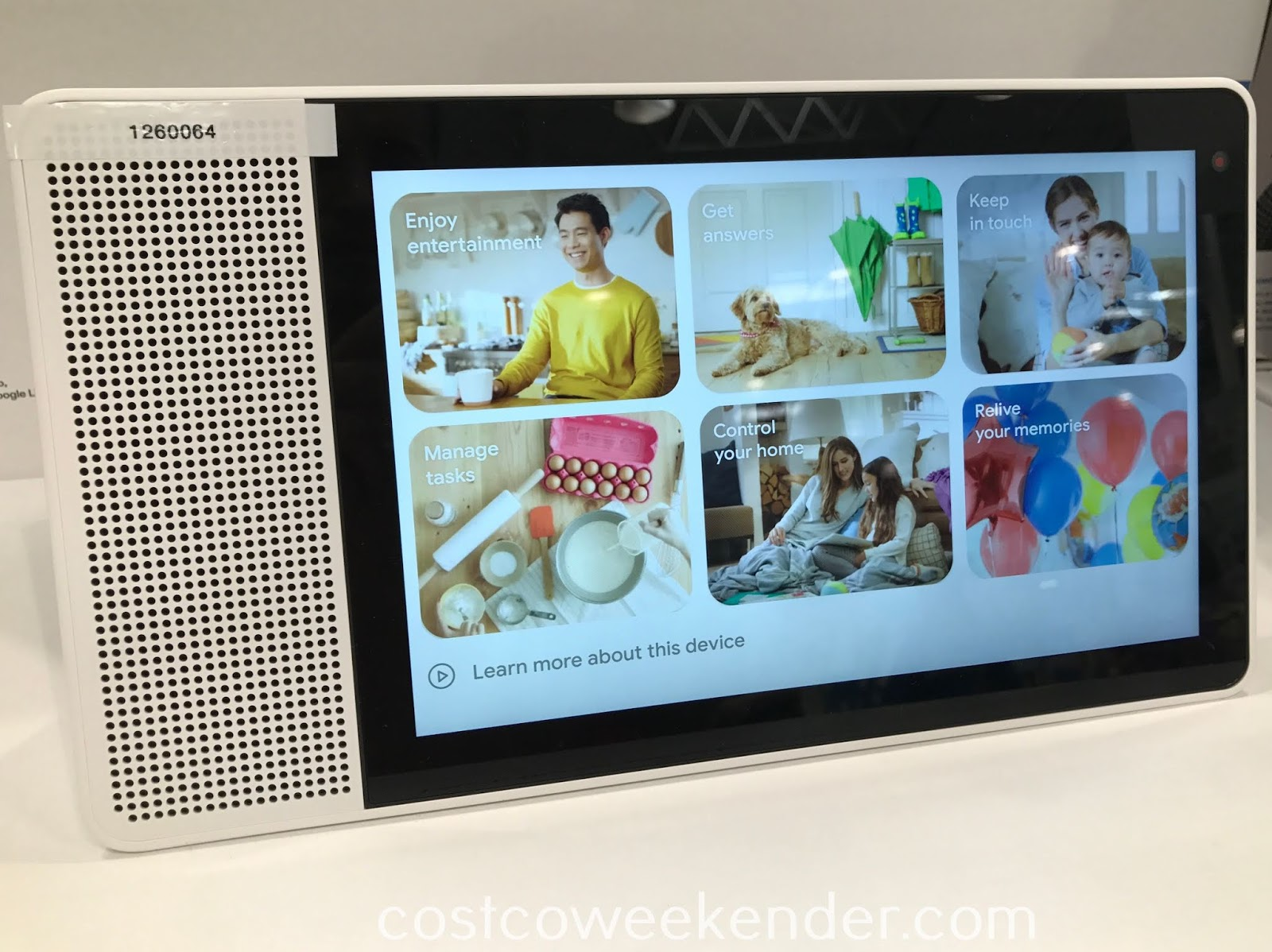Costco 1264060 - Make your home into a smart home with the Lenovo Smart Display
