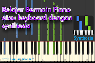 Belajar Bermain Piano atau keyboard dengan synthesia