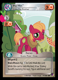 My Little Pony Big Mac, Little Big Brother Marks in Time CCG Card