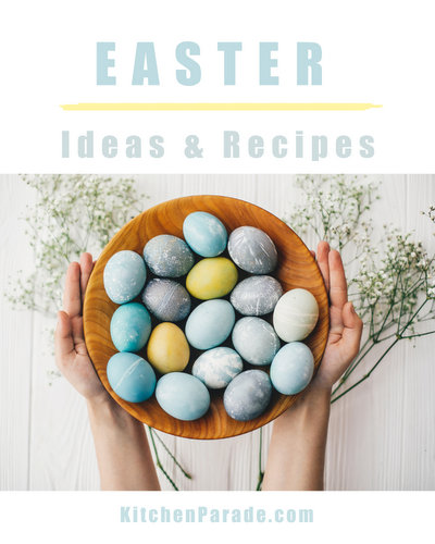 Easter Ideas & Recipes ♥ KitchenParade.com, from Hot Cross Buns to Twice-Smoked Ham.