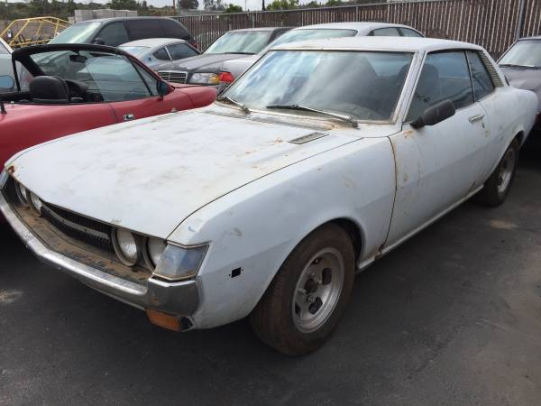 Complete Project, 1973 Toyota Celica