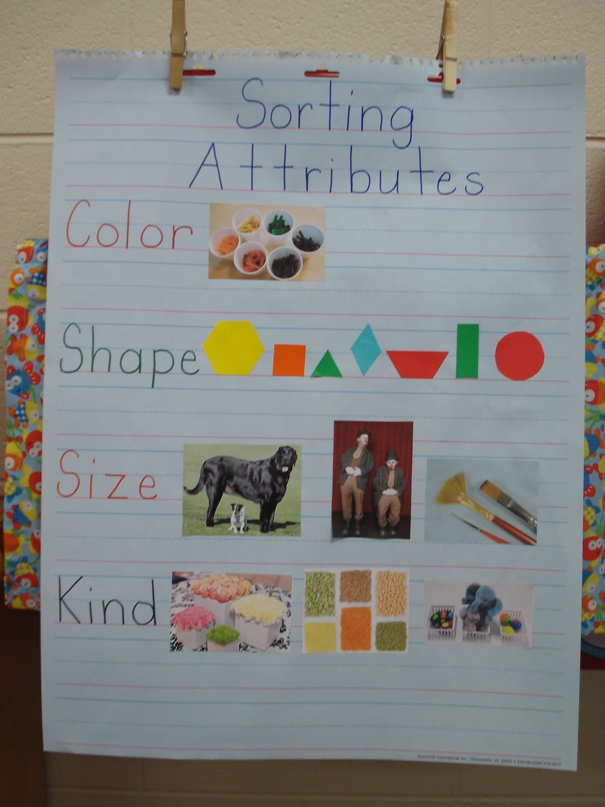 Kindertrips Sorting By Attributes