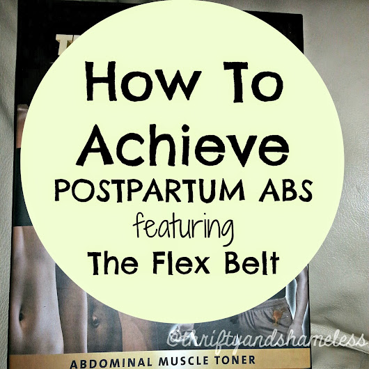 How To Achieve Postpartum Abs featuring The Flex Belt®