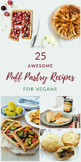 25 Awesome vegan puff pastry recipes that are easy to make using ready made puff pastry.