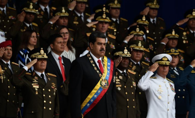 Maduro says he escaped 'assassination' attempt claimed by rebel group