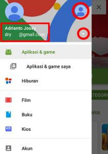 Cara Mengganti Akun Google Play Store