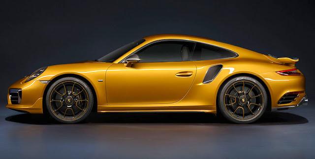 ポルシェ・911ターボS・エクスクルーシブシリーズ