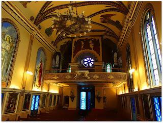 Interior da Capela São Rafael, Porto Alegre
