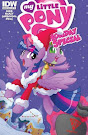 My Little Pony Holiday Special #2 Comic Cover Books a Million Variant