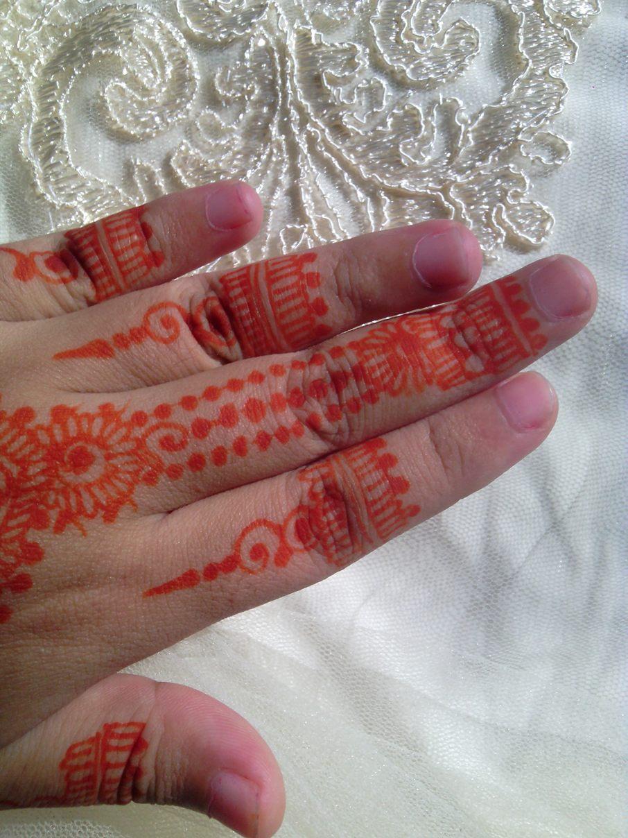 Review Golecha Henna Orange Ayana Henna
