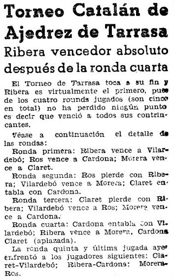 Recorte de Mundo Deportivo del 8 de julio de 1936