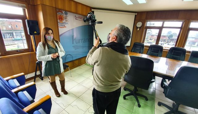 DAEM Purranque lanza canal de TV educativo