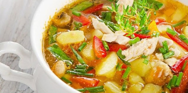 Resep Praktis Buka Puasa Sayur Sop Ayam