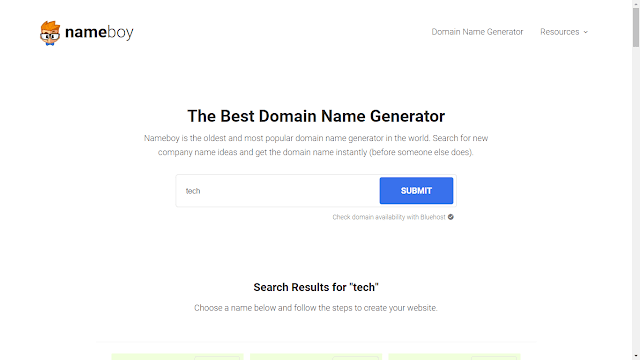 So at nowadays a solar daytime finding a correct domain is real difficult the argue behind this contender of blo [Top 15] Domain Name Generators Of  2019