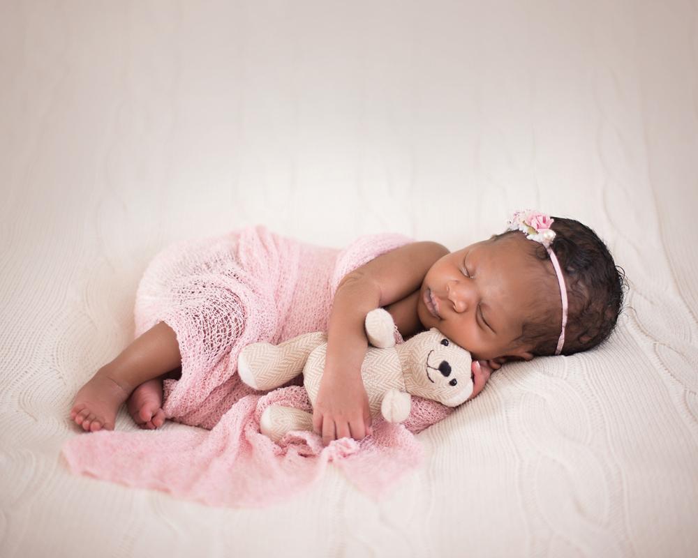 African American newborn photos DeKalb IL
