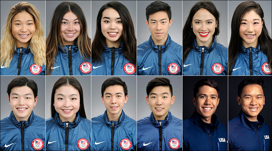 The 12 Asian Americans Competing at the 2018 Winter Olympics