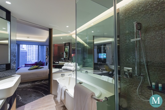 Bathroom of the Spectacular Room at W Hotel Kuala Lumpur