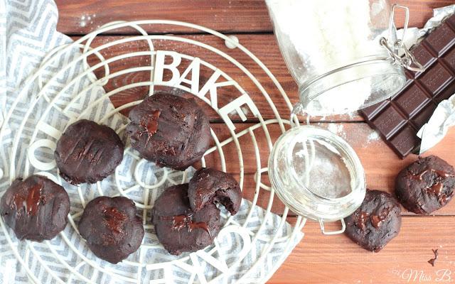 Chocolate Fudge Brownie Cookies