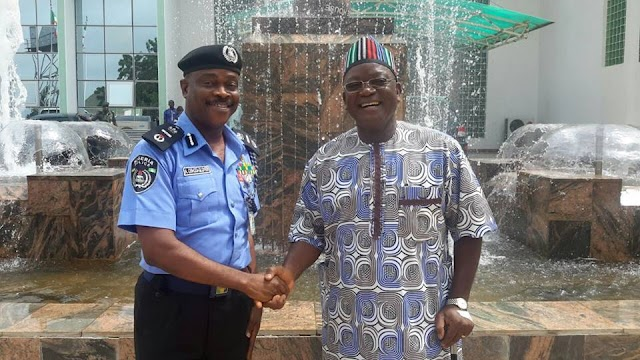 ORTOM PLEDGES SUSTAINED SYNERGY WITH POLICE