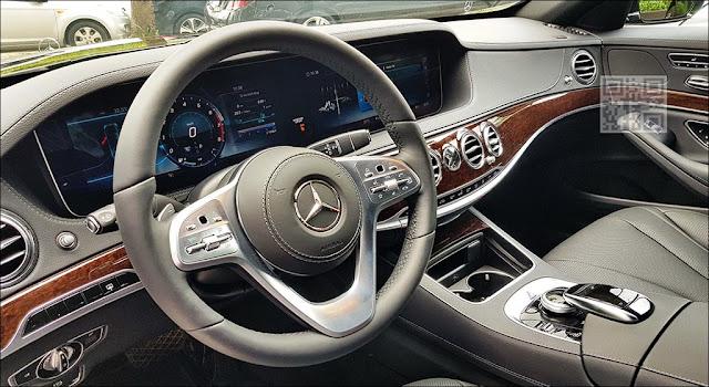 Thiết kế nội thất Mercedes S450L Star 2019