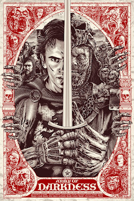 Army of Darkness Screen Print by Anthony Petrie x Grey Matter Art
