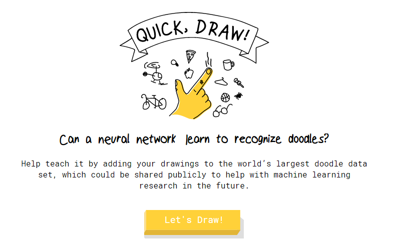 Time To Talk Tech Quick Draw Can Ai Guess Your Drawing Fun