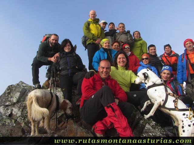 Ruta al Cerro Pedroso: Cima del Cerro Pedroso