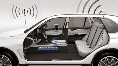 BMW prezinta Vehicular Small Cell la Mobile World Congress 2015 de la Barcelona
