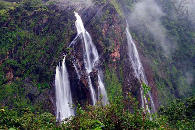 Jog falls (Rocket-Rani streams)