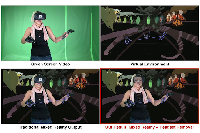 Headset Removal for Virtual and Mixed Reality - Google Updates