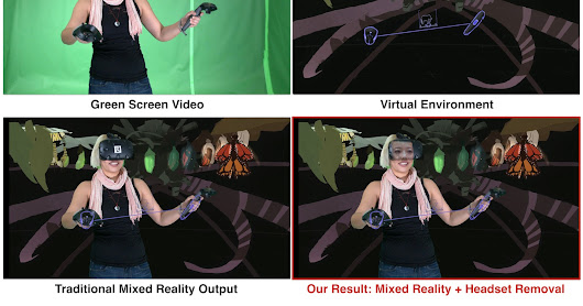 "Headset ""Removal"" for Virtual and Mixed Reality"