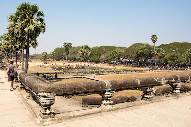 kambodža, siem reap, angkor, vat, wat, cestování, Asie