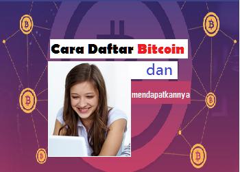 cara daftar bitcoin