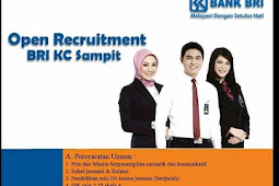 Lowongan Kerja PT Bank Rakyat Indonesia (Persero) Tbk.