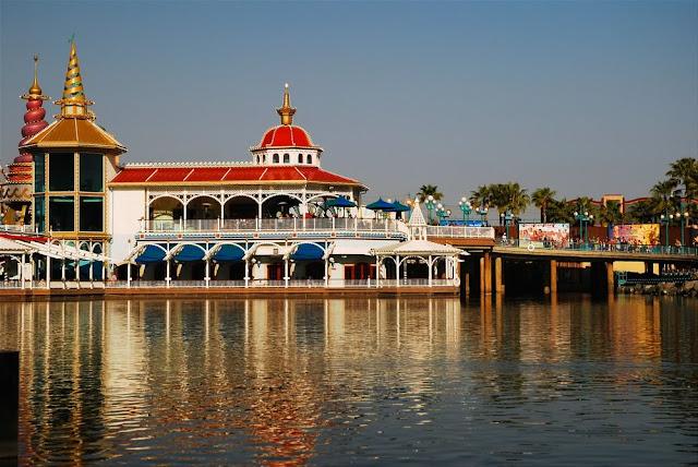 Visiting Disneyland