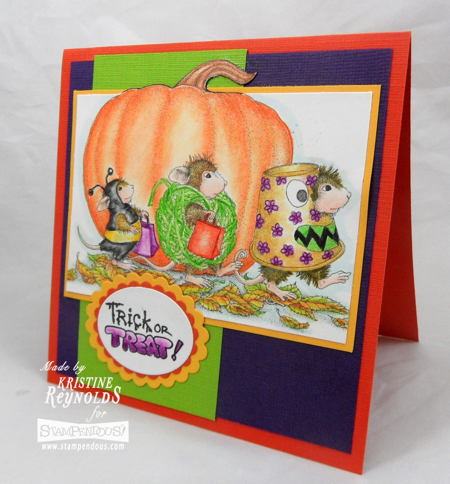 Stamping & Scrapping In California: Trick Or Treat