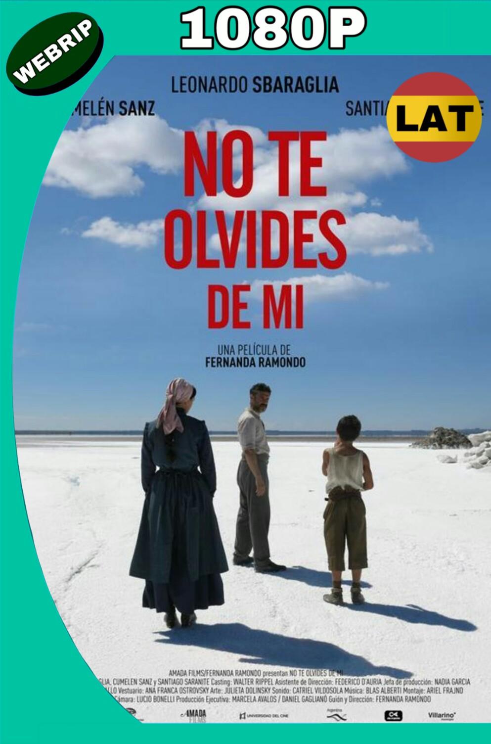 NO TE OLVIDES DE MI (2016) HD WEBRIP 1080P LATINO MKV