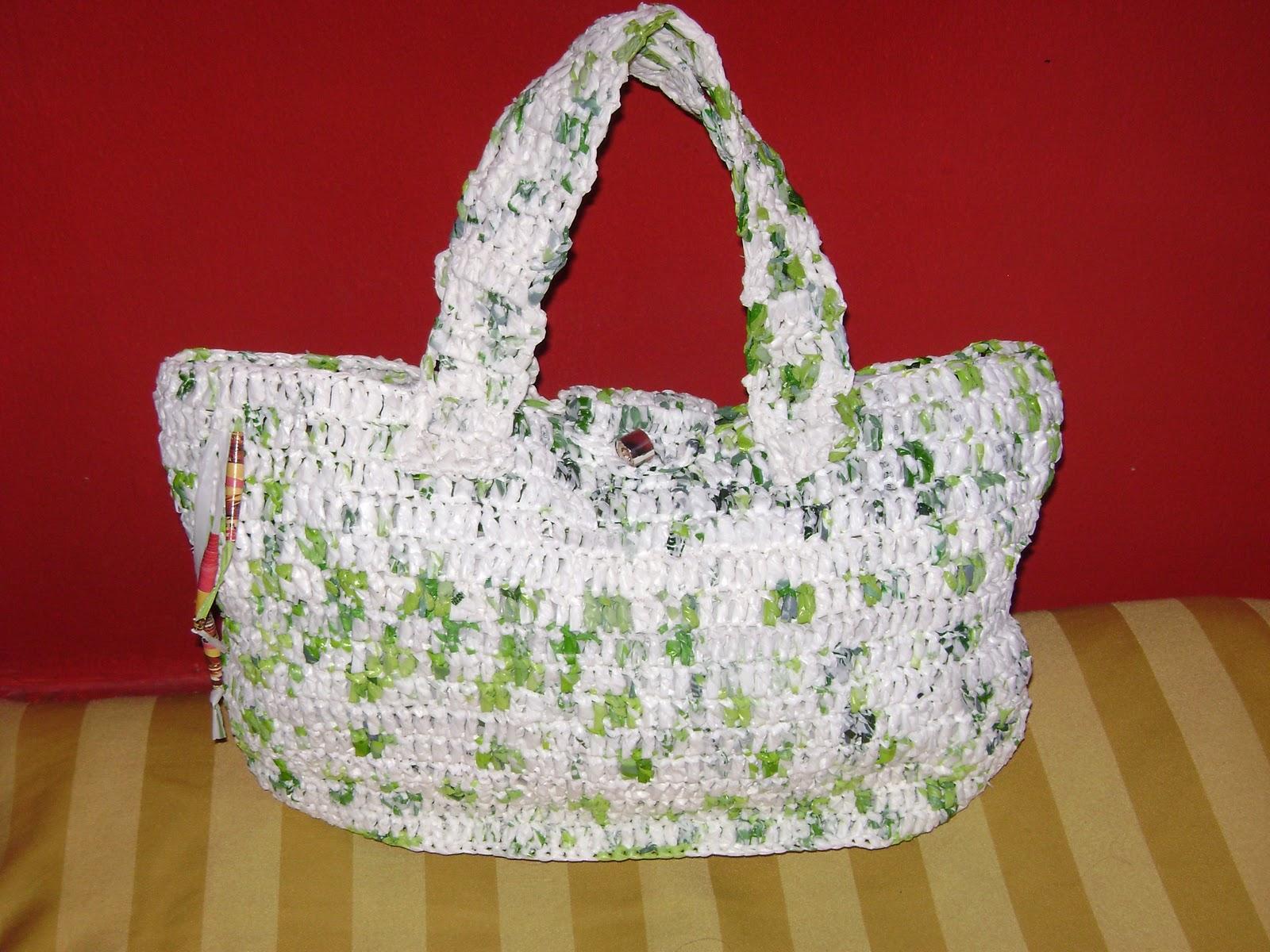 544c270e4 Luce el Reciclaje: Bolsos y carteras de bolsas recicladas
