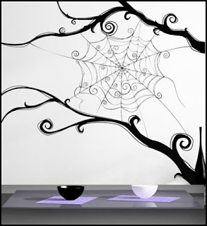 Nightmare Before Christmas Wall Decals  Nightmare Before Christmas theme bedroom decorating ideas - jack skellington decor - Nightmare Before Christmas Bedroom Decor -  Jack skellington Sally the nightmare before Christmas - Nightmare Before Christmas  bedding - Halloween - Tim Burton -
