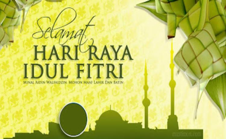 10 Kartu Ucapan Selamat Hari Raya Idul Fitri  2019