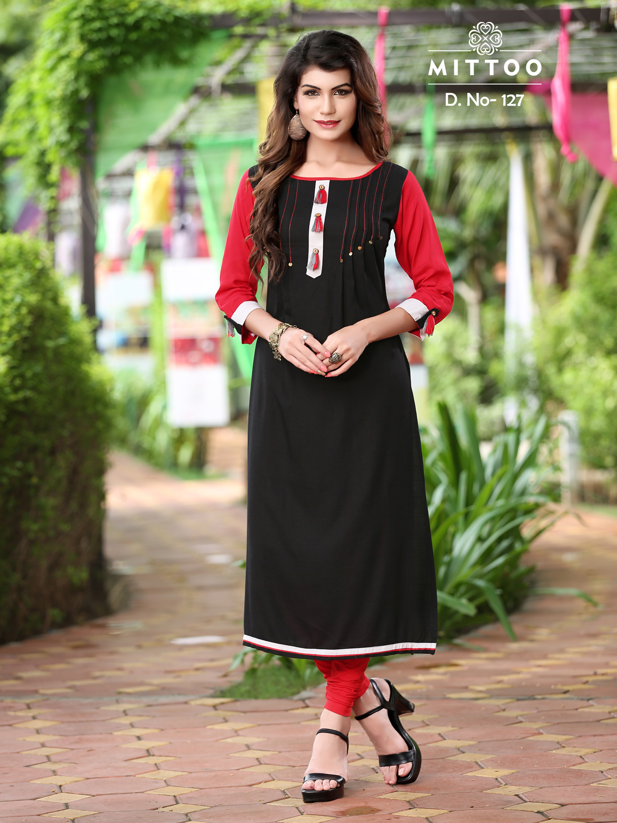 Payal : Mittoo Rayon Embroidery Kurti