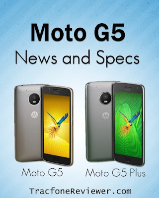 Moto G5 tracfone byop