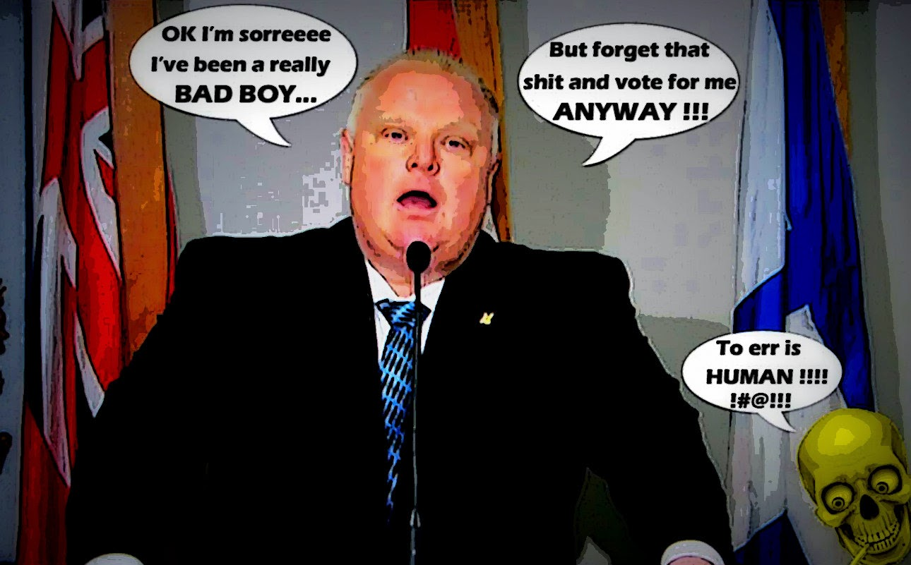 montreal simon rob ford 39 s hideous and hollow apology. Black Bedroom Furniture Sets. Home Design Ideas