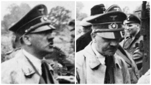 30 June 1940 worldwartwo.filminspector.com Hitler eating